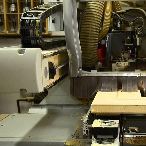 Mecanización en serie de piezas con CNC