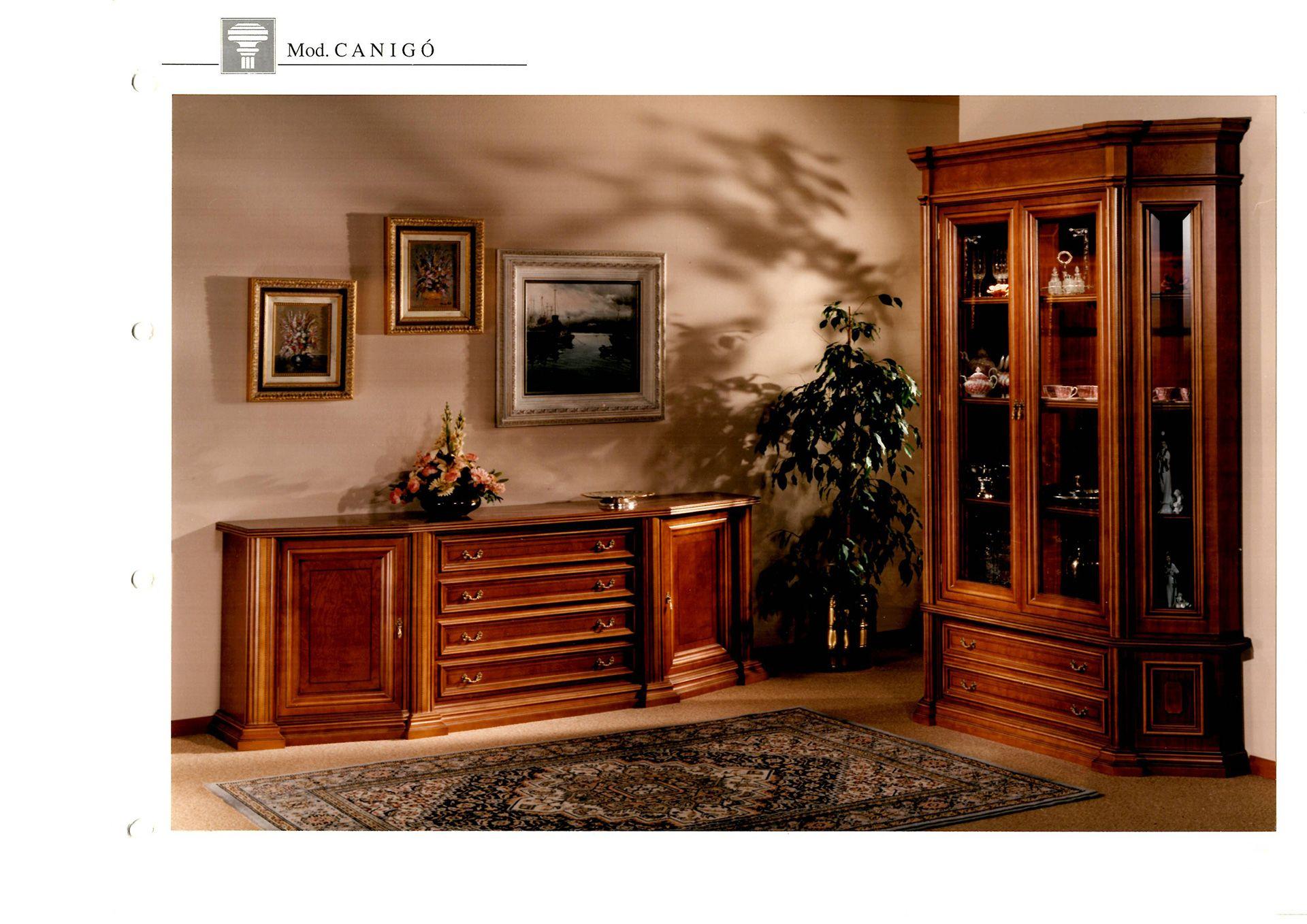 Muebles de comedor clásicos en Sabadell estilo Francés e Inglés